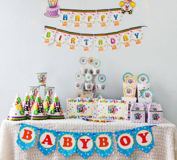 Phụ kiện trọn bộ happy birthday giá sỉ