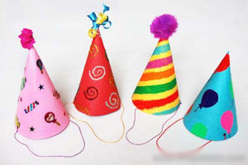 Cách làm nón sinh nhật cho bé