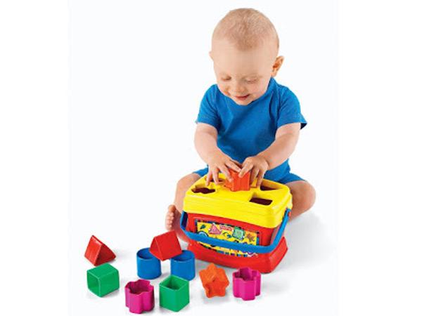 Đồ chơi thả khối cho bé 1 tuổi