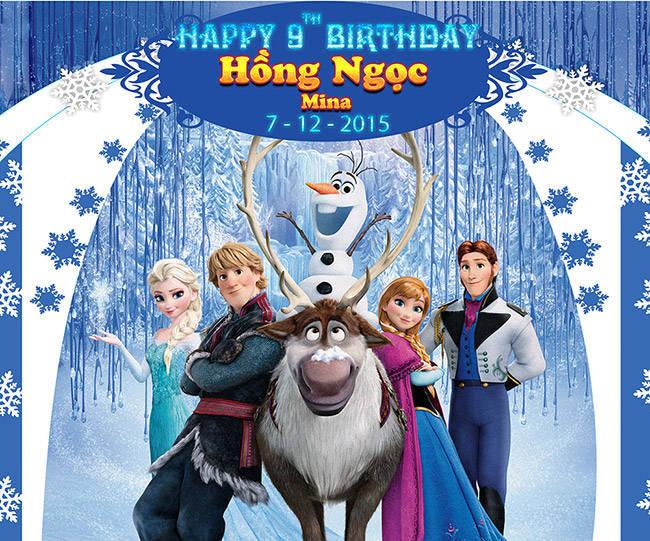 Phông nền công chúa Elsa 02