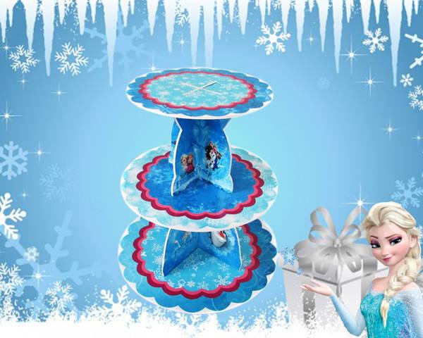 Kệ bánh sinh nhật Frozen